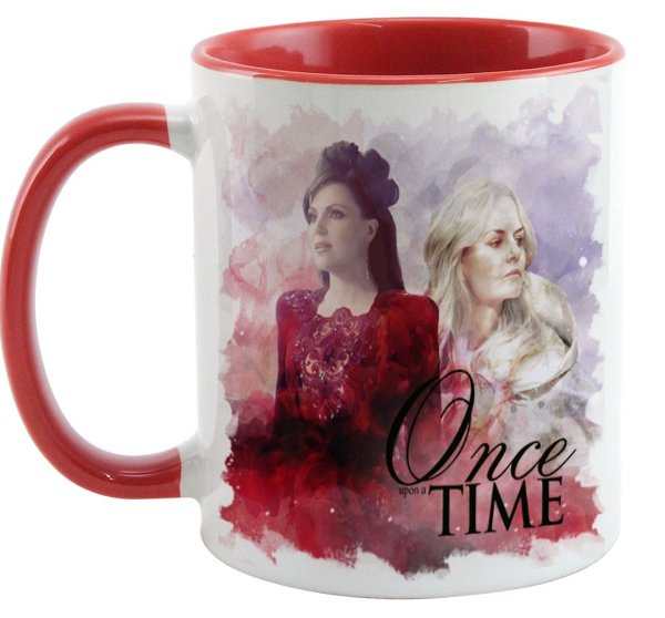 Caneca - Série Once Upon a Time Regina e Emma