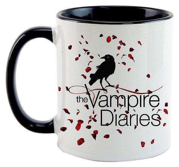 Caneca - Série The Vampire Diaries- Logo
