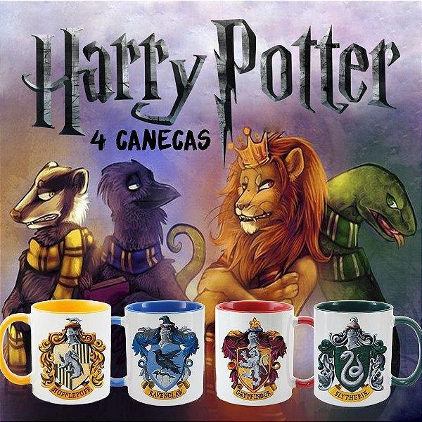 Kit - Casas Harry Potter