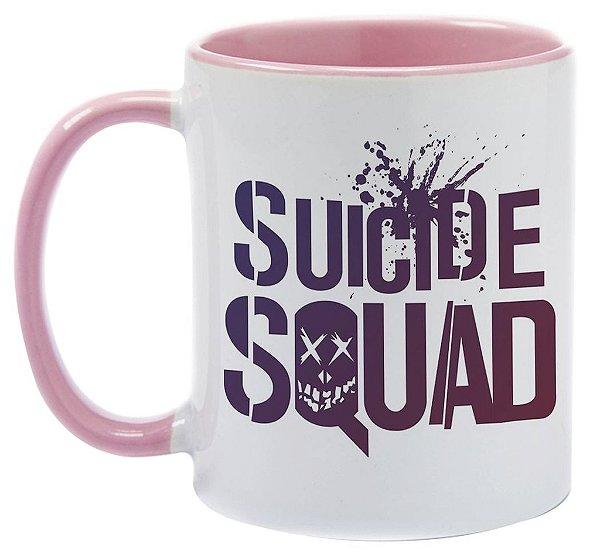 Caneca - Esquadrão Suicida - Rosa