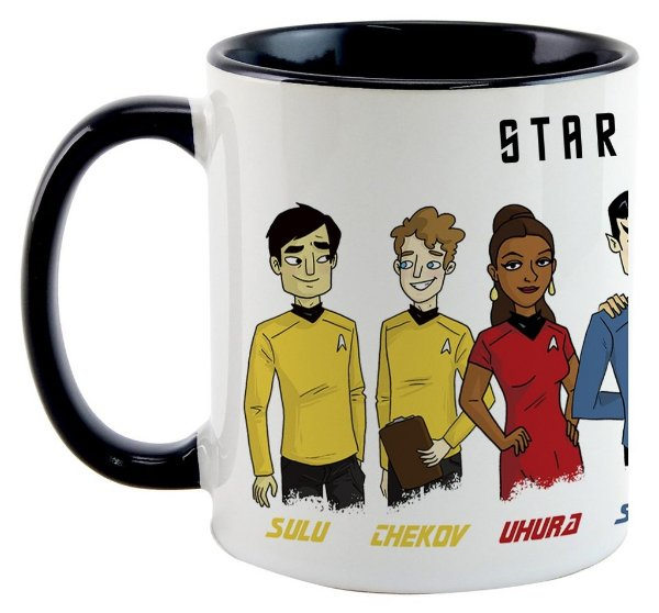 Caneca - Star Trek - Personagens