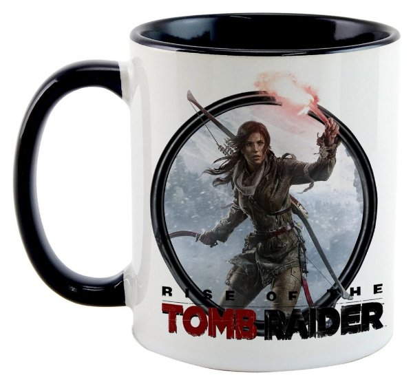 Caneca - Game Tomb Raider 2016