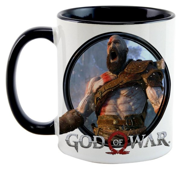 Caneca - Game God of War 2016