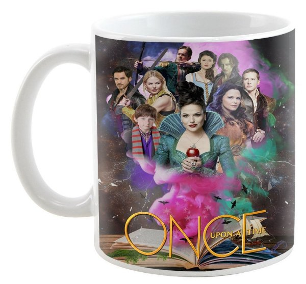 Caneca - Série Once Upon a Time - Book Magic
