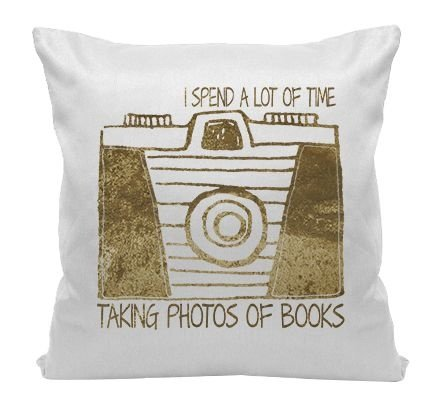 Almofada - Bookstagram - Fotos de Livros