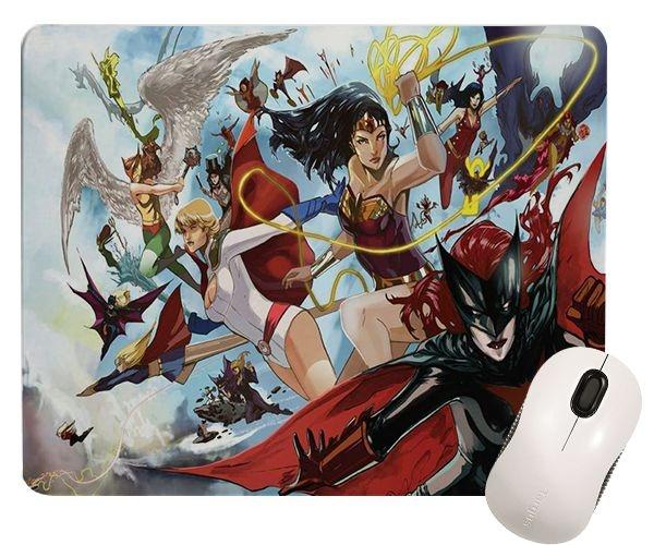 Mouse Pad - Mulher Maravilha e Heroínas