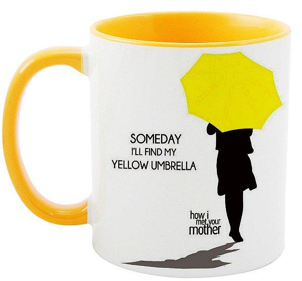 Caneca - Série How i met your Mother - Yellow Umbrella
