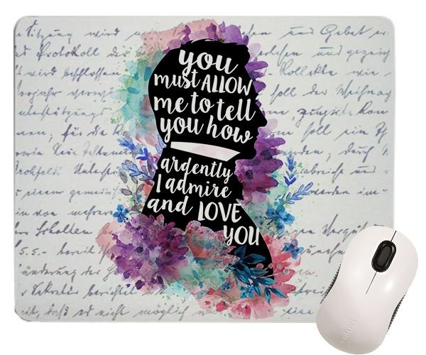Mouse Pad - Mr. Darcy - Jane Austen