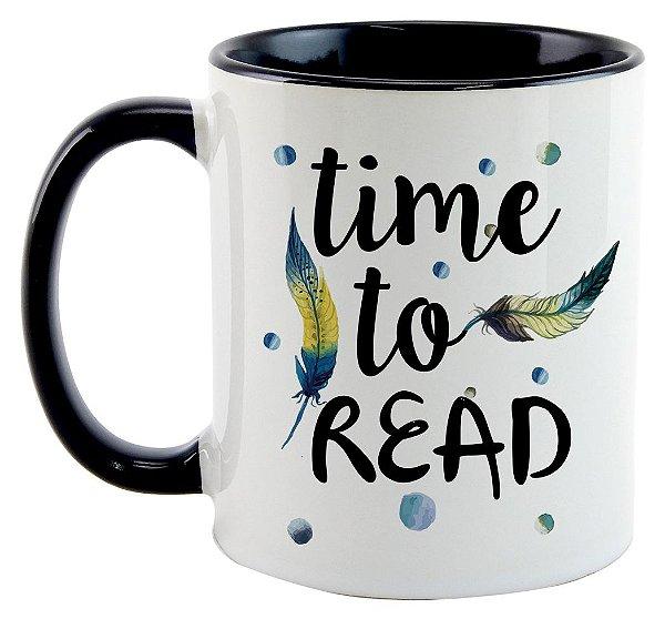 Caneca - Bookstagram - Time to Read