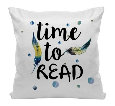 Almofada - Bookstagram -  Time to Read