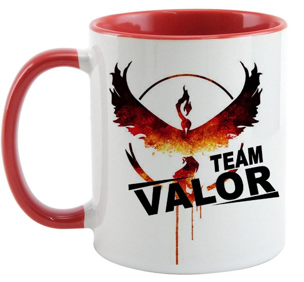 Caneca - Pokémon - Team Valor