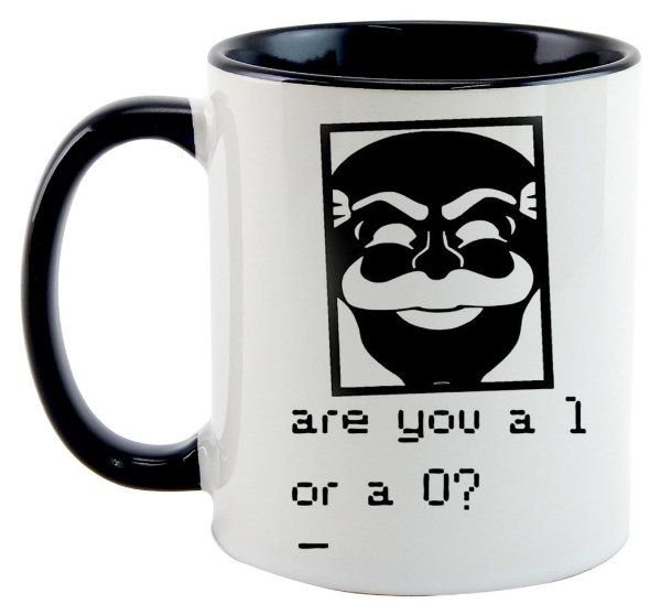 Caneca - Série Mr. Robot - Are You a 1 or a 0?