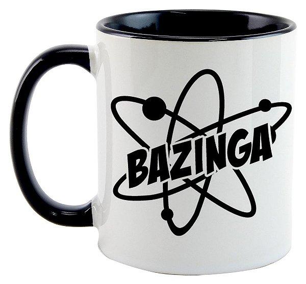 Caneca - Série The Big Bang Theory - Bazinga
