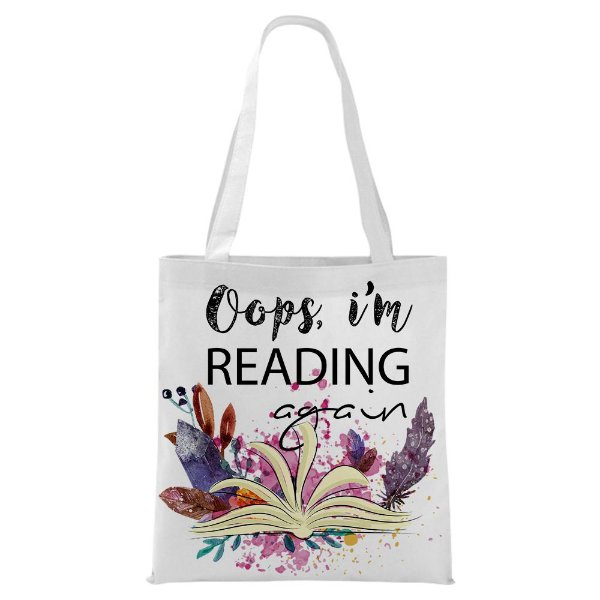 Ecobag - Bookstagram - Oops, i'm reading Again