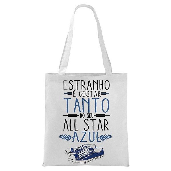 Ecobag - Música All Star Azul
