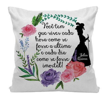 Almofada - Julia Quinn - Viva cada Hora