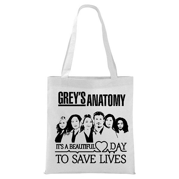 Ecobag - Grey's Anatomy - Save Lives