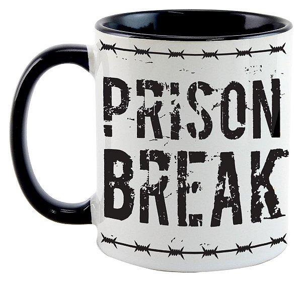 Caneca - Série Prision Break - Logo