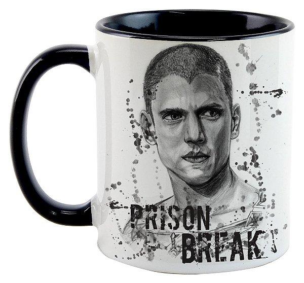 Caneca - Série Prision Break - Michael Scofield