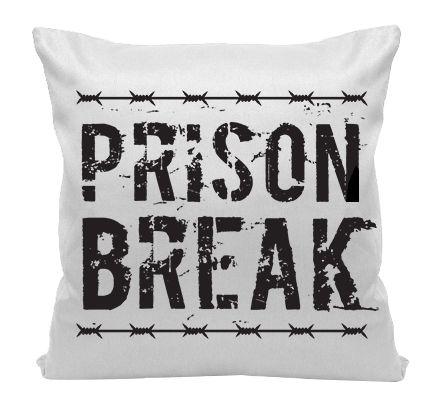 Almofada - Série Prision Break - Logo