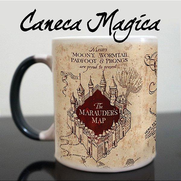 Caneca Mágica - Mapa do Maroto