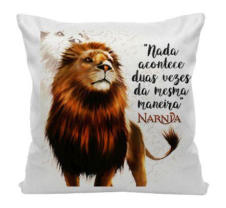 Almofada - As Crônicas de Narnia - Aslan