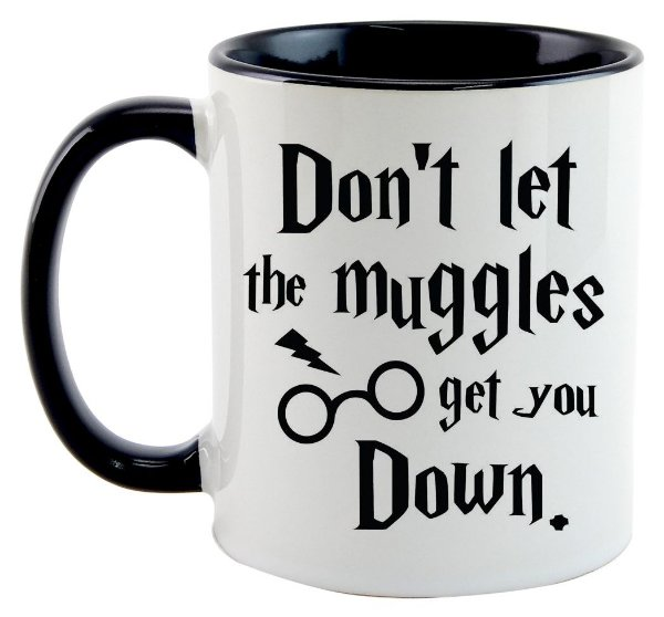 Caneca - Harry Potter - Muggles