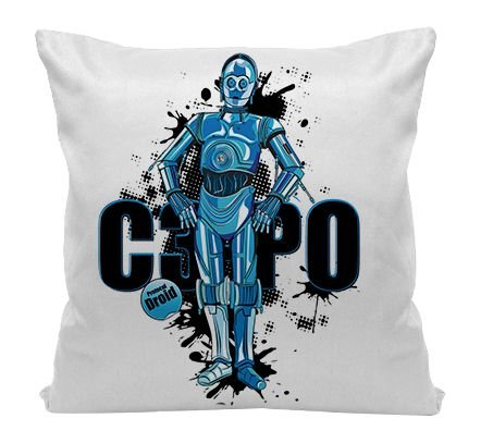 Almofada - Star Wars - C3PO