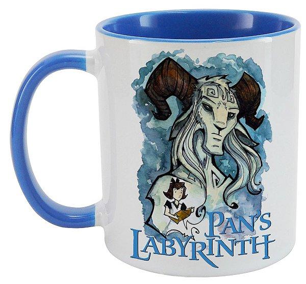 Caneca - Pans Labyrinth - Blue