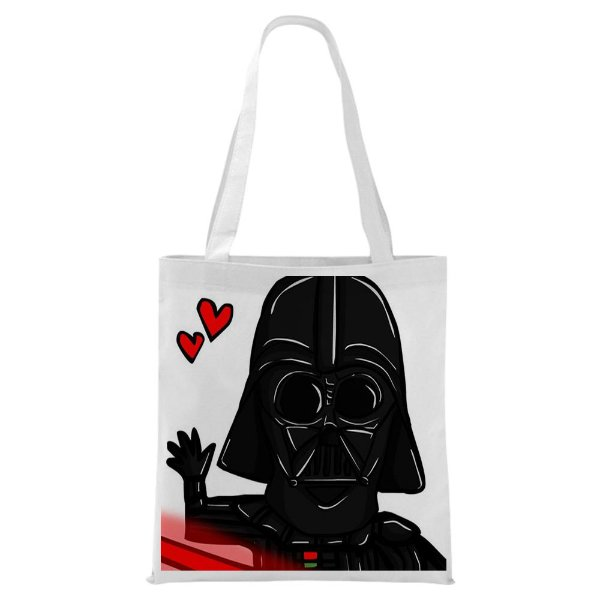 Ecobag - Darth Vader Love