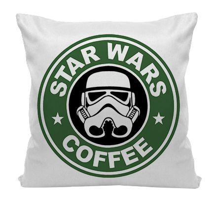 Almofada - Star Wars - Coffee