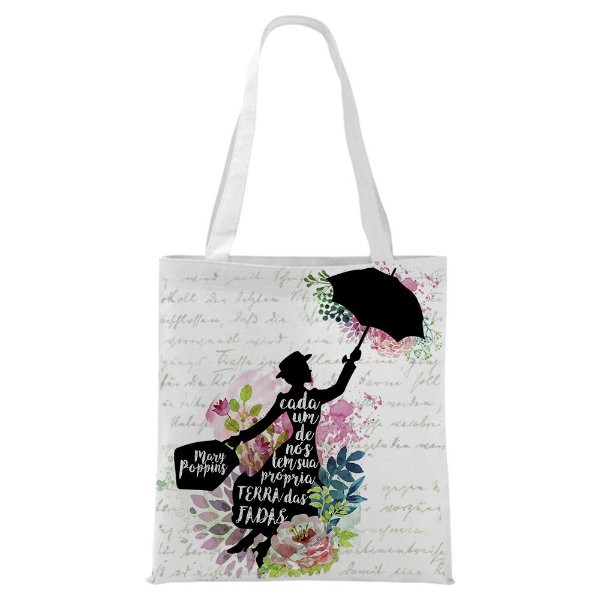Ecobag - Mary Poppins - Frase