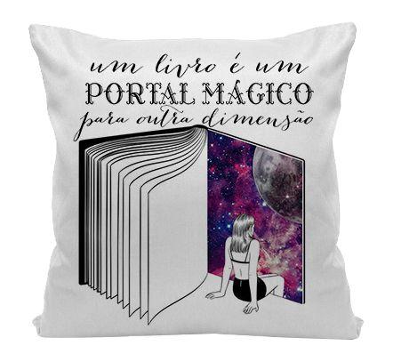 Almofada - Bookstagram - Livros, um Portal