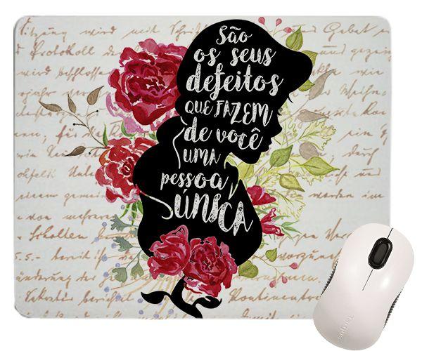 Mouse Pad - Princesas - Bela