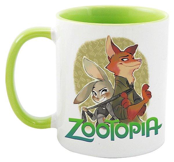 Caneca - Zootopia