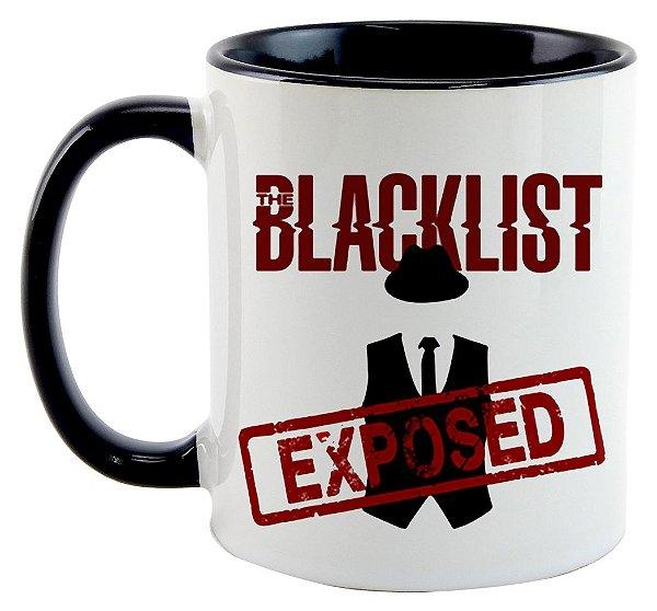 Caneca - Série The Blacklist - Exposed