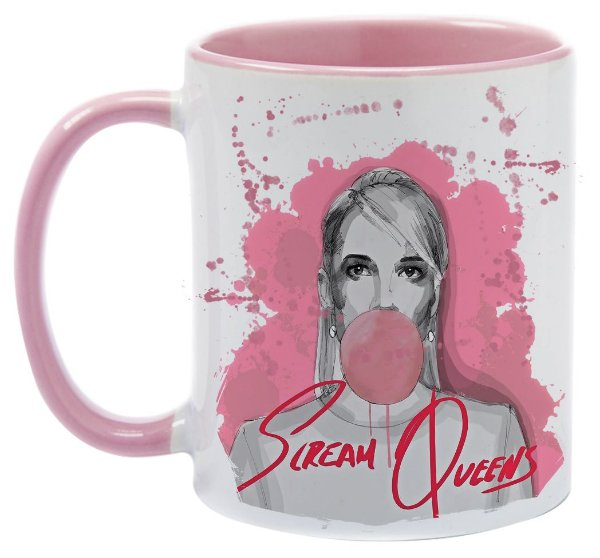Caneca -Scream Queens - Pink