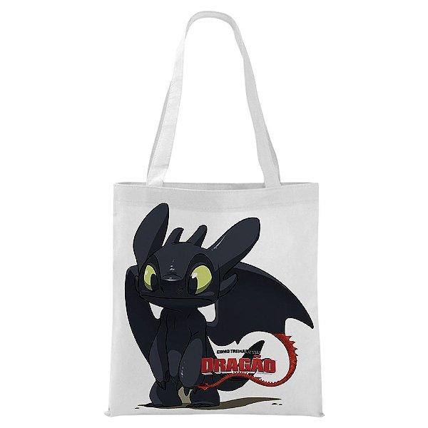 Ecobag - Como Treinar seu Dragão - Fúria da Noite