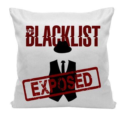Almofada - Série The Blacklist - Exposed