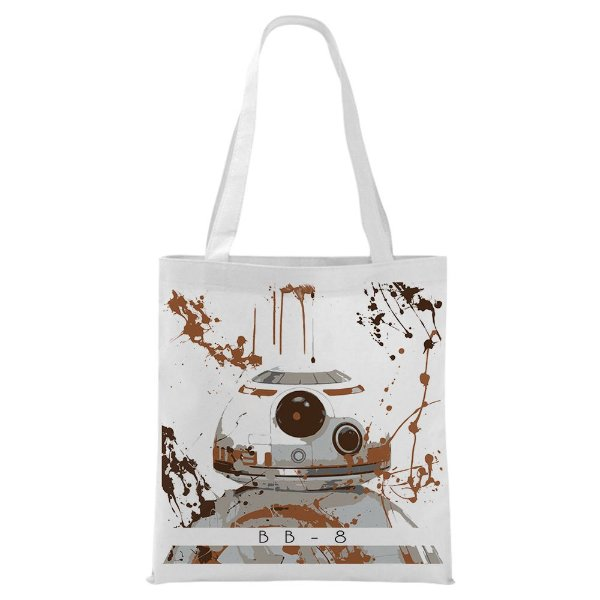 Ecobag - Star Wars - BB8 - Aquarela