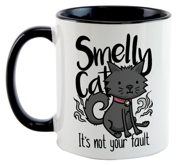Caneca - Série Friends - Smelly Cat