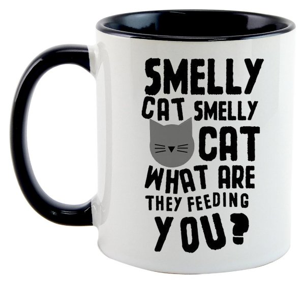 Caneca - Série - Friends - Smelly Cat, Smelly Cat