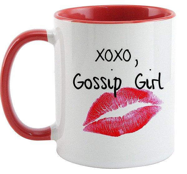 Caneca - Série Gossip Girl - Xoxo