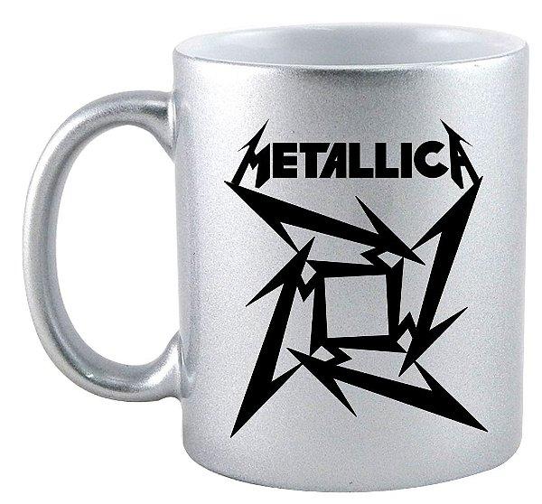 Caneca - Metalica
