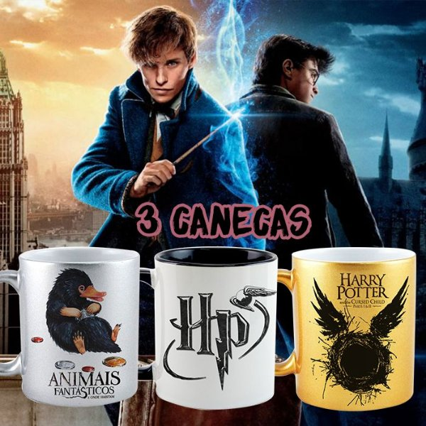 Kit - Harry Potter e Animais Fantásticos
