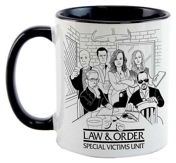 Caneca - Série Law & Order