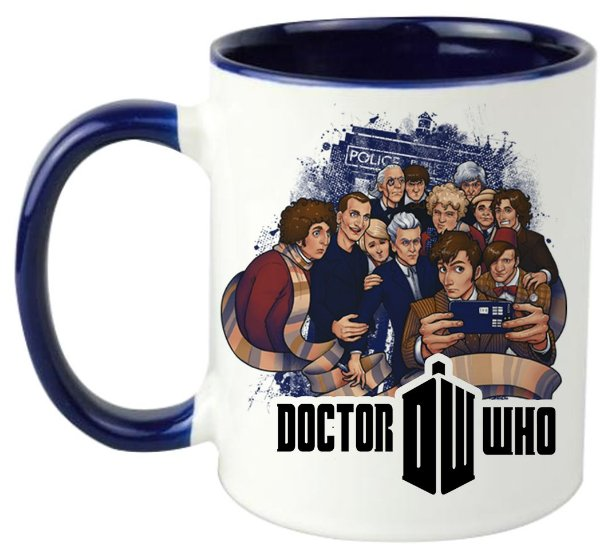 Caneca - Série Doctor Who - Reunião