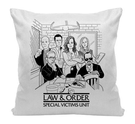 Almofada - Série Law & Order