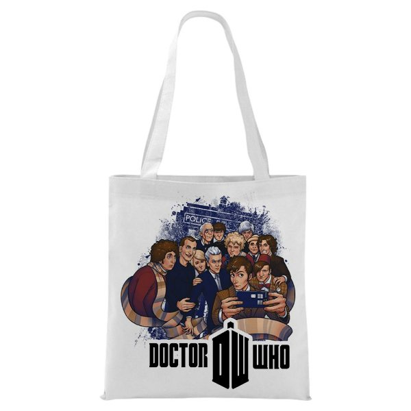 Ecobag - Doctor Who - Personagens