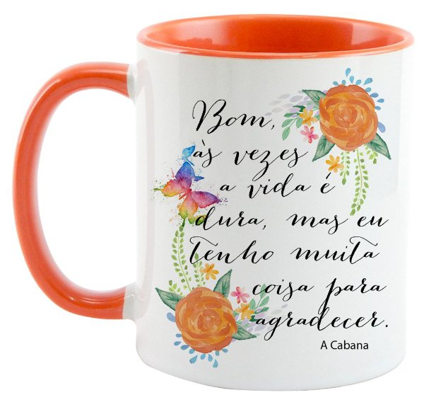 Caneca - A Cabana - Agradecer